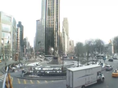Columbus Circle, New York live cam