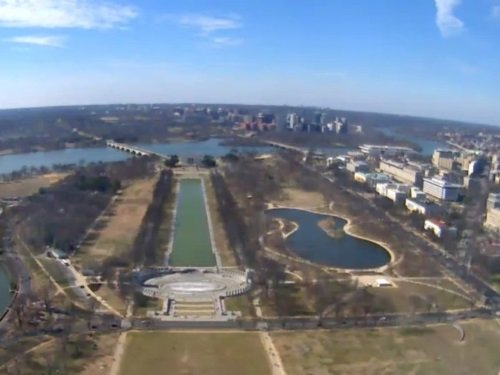Washington Monument Panorama live cam