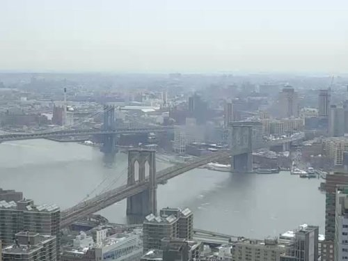Brooklyn Bridge, New York live cam