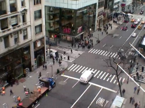 5th Avenue, New York live cam