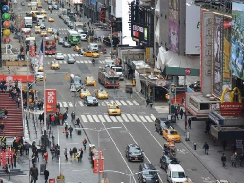 Times Square Crossroads, New York live cam