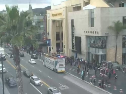Hollywood Blvd, Los Angeles live cam