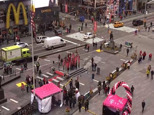 Times Square, New York live cam