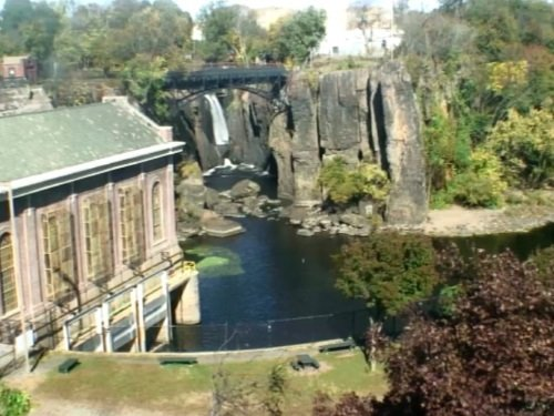 Paterson Great Falls, New Jersey live cam
