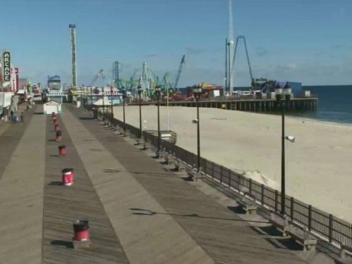 Seaside Heights Boardwalk North live cam