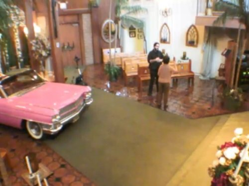 Elvis Wedding Chapel, Las Vegas live cam