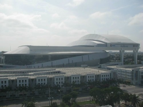 Marlins Park Construction, Miami live cam