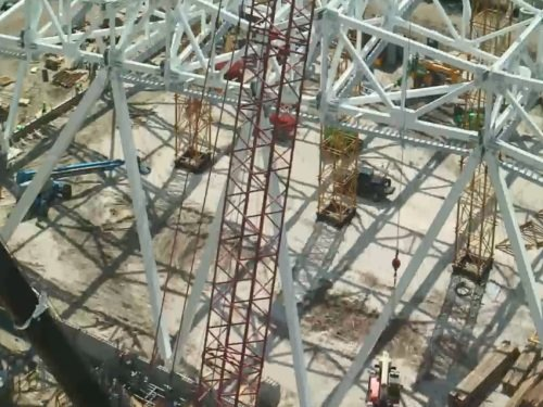 EverBank Field Construction, Jacksonville live cam