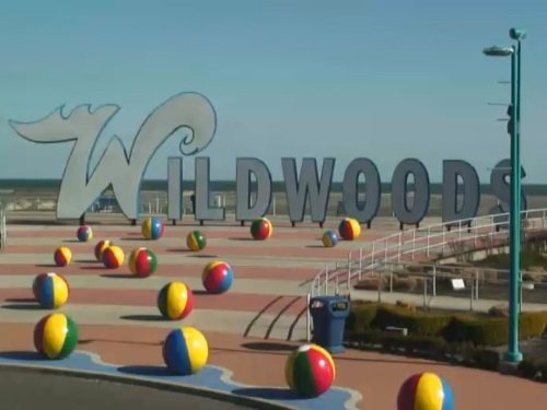 Wildwoods Sign, New Jersey live cam