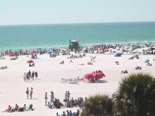 Siesta Key Beach, Florida live cam