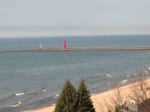 Lake Michigan, Grand Haven live cam