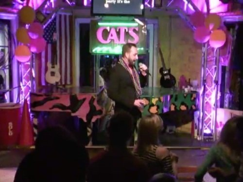 Cats Meow Karaoke Stage, New Orleans live cam