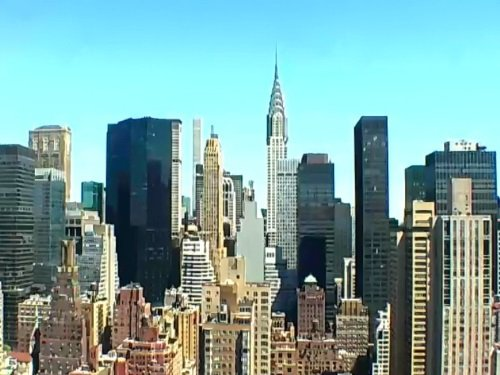 Manhattan Skyline, New York live cam