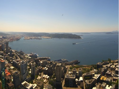 Space Needle, Seattle live cam