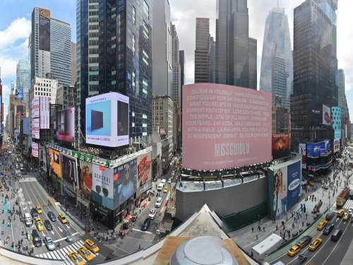 Times Square Panorama, New York live cam