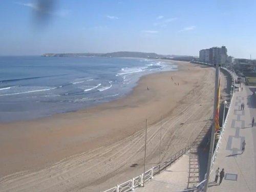 Webcam playa de salinas espartal sport center live - Hotel salinas asturias ...