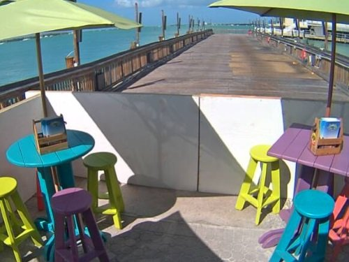 Sunset Pier, Ocean Key Resort live cam