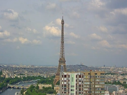 Eiffel Tower, Paris live cam
