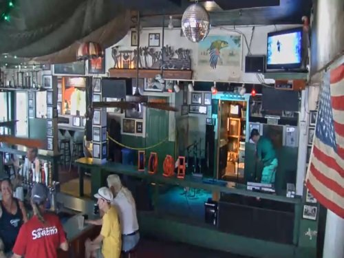 Green Parrot Bar, Key West live cam