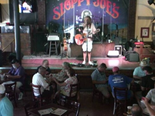 Sloppy Joe's Bar Stage, Key West live cam