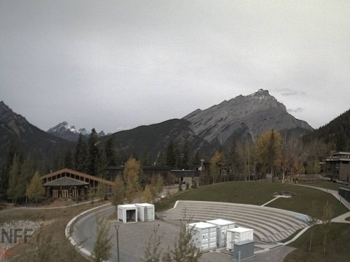Banff Downtown live cam