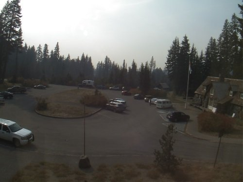 Crater Lake Visitor Center live cam