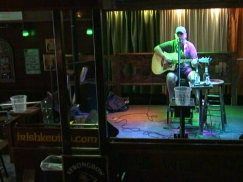 Irish Kevin's Bar Stage, Key West live cam